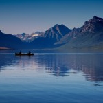 1014 - Evening, Lake McDonald