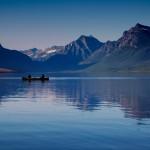 1014 - Evening, Lake McDonald