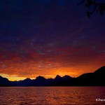 1015 - Sunrise, Lake McDonald