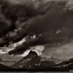 1016 Storm Clouds, Two Medicine Lake, Glacier National Park, MT