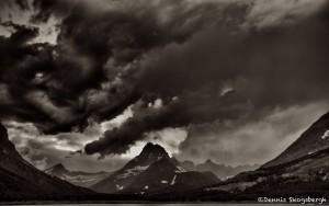 1016 Storm Clouds, Two Medicine Lake, Glacier National Park, MT
