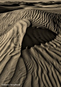 1040 Death Valley, Sand Dunes