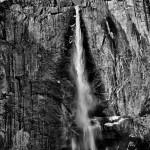 1073 'Snow-cone' Upper Yosemite Falls, Yosemite National Park
