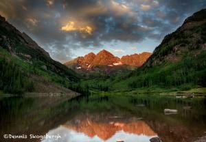 1415 Sunrise, Maroon Bells, Aspen CO