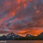 4409 Sunset, Coulter Bay, Grand Teton NP, WY