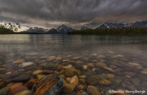 4410 Storm Clouds Over Coulter Bay, Grand Teton NP, WY