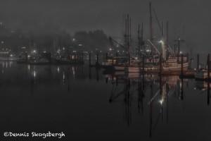 5175 Pre-dawn Yaquina Bay Harbor, Oregon