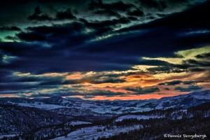Sunrise, Yellowstone National Park