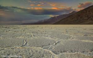 Sunset, Death Valley, Salt Plane