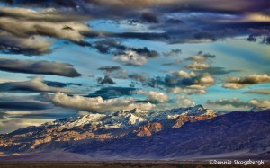 1018 Snow-topped Mountains, Death Valley National Park