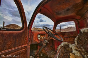1039 Abandoned Truck, Death Valley