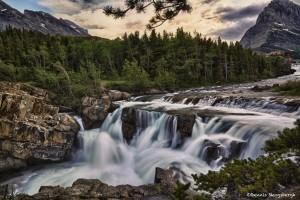 1049 Swiftcurrent Falls, Many Glacier, Glacier National Park