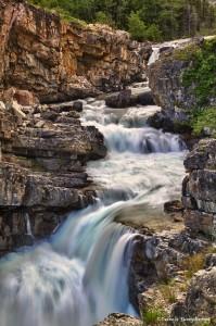 1050 Swiftcurrent Falls, Many Glacier Valley, Glacier National Park