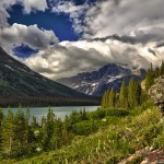 1056 Lake Josephine Reflections, Glacier National Park, MT