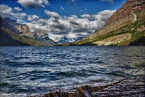1058 St. Mary Lake, Wild Goose Island, Glacier National Park, MT