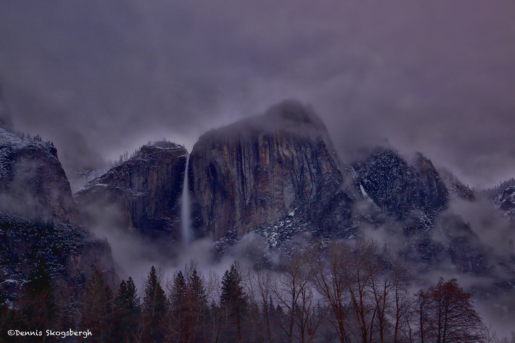 yosemite national park fog - photo #30