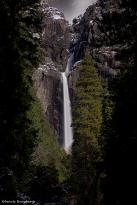 1069 Yosemite Falls, Winter, Yosemite National Park