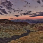 1096 Sunrise, Zabriskie Point, Death Valley National Park, CA