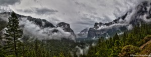 1101 Fog, Tunnel View, Yosemite National Park