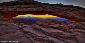 1108 Sunrise, Mesa Arch