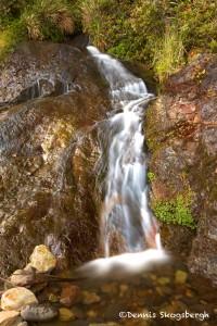 1244 Waterfall, Smuggler's Beach, Oregon Coast