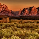 1327 Sunrise, P.P. Cunning Cabin, Grand Teton National Park, WY