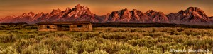 1327 Sunrise, P.P. Cunning Cabin, Grand Teton National Park, WY