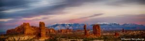 1508 Sunset, Balanced Rock. Arches National Park, UT
