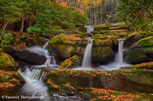 1708 Cascade with Autumn Color