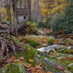 1727 Autumn, Roaring Forks (Alfred Reagan's) Tub Mill
