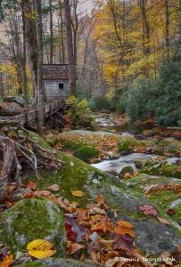 1727 Autumn, Roaring Forks (Alfred Reagan's) Tub Mill