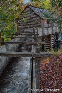 1740 Grist Mill, Cade's Cove