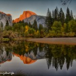 1784 Sunset, Half Dome, Merced River
