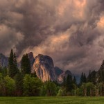 1815 June Storm Clouds, Yosemite Valley