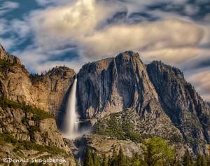 1818 Upper Yosemite Falls, June
