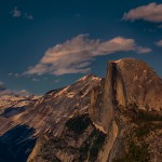 1819 Sunset, Glacier Point, Half Dome