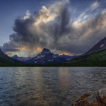 2154 Storm Clouds, Two Medicine Lake