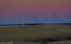2787 Dusk, Klondike Windfarm, Wasco, OR