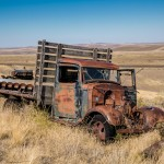 2795 Abandoned Truck, Central Oregon