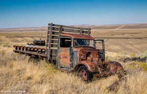 2795 Abandoned Truck, Central Oregon