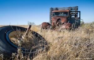 2796 Abandoned Truck, Central Oregon