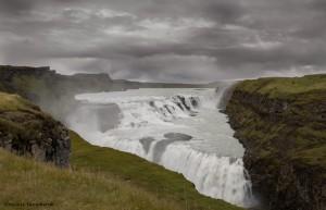 2815 Gullfoss, Iceland, waterfall