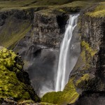 2821 Haifoss, Iceland, waterfall