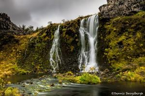 2826 Gjain Waterfall, Thjorsardalur, Iceland