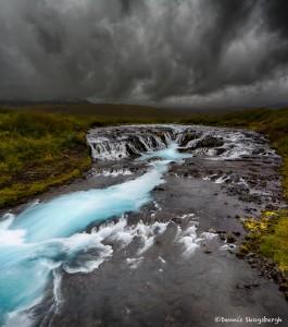 2835 Bruarfoss, Iceland, waterfall