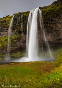 2845 Seljalandsfoss, Iceland, waterfall