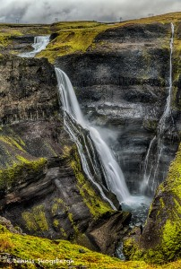 2862 Granni Waterfall, Iceland