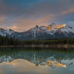 2930 Sunrise, Herbert Lake, Banff National Park, Alberta, Canada