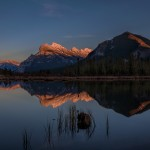 2931 Sunset, Vermillion Lakes, Banff National Park, Alberta, Canada