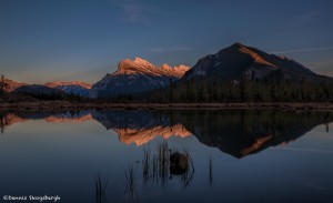 2931 Sunset, Vermillion Lakes, Banff National Park, Alberta, Canada